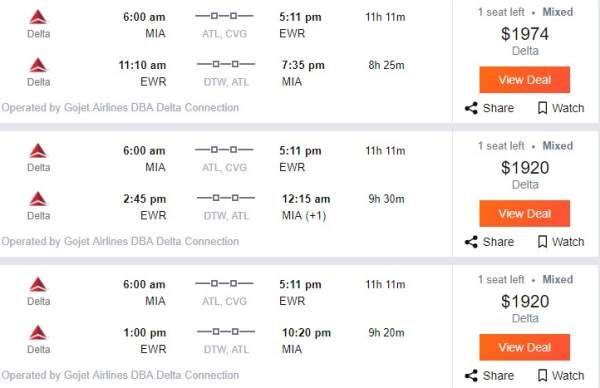Airlines Battle Price