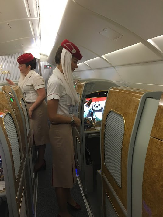 Emirates First Class Flight + Lounge Review New York ...