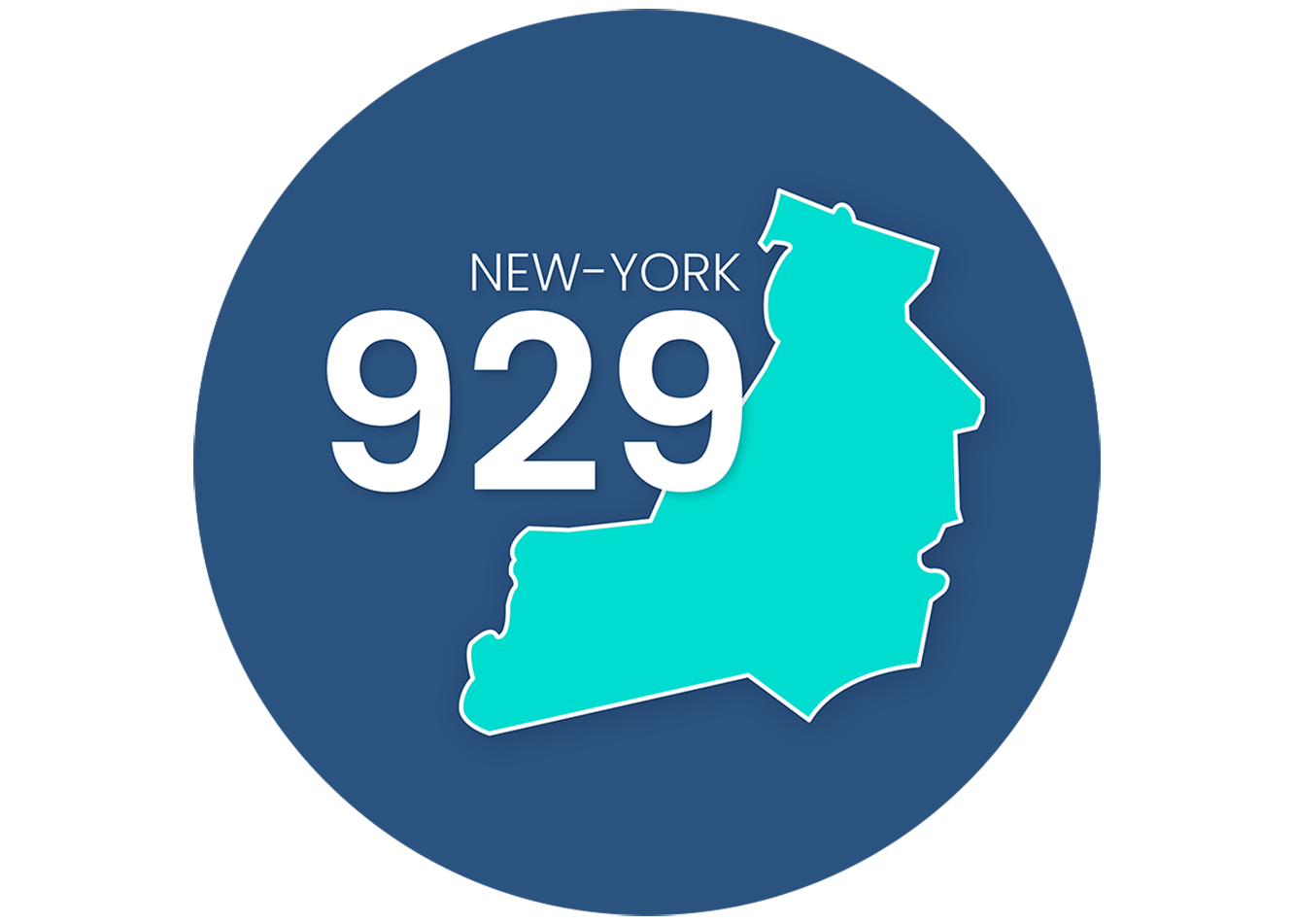 Get a 929 area code phone number in New York