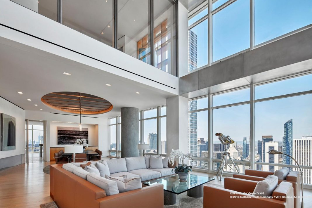 in the clouds the most luxurious penthouses in new york