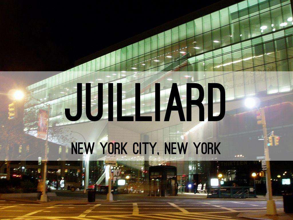 juilliard by alaina morrow