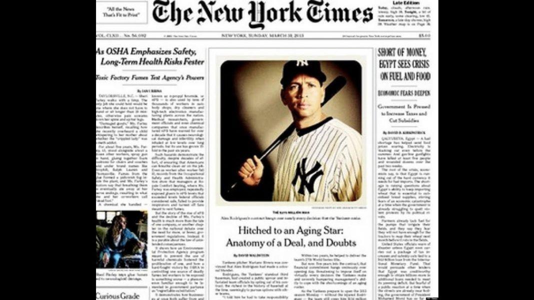 new york times newspaper store youtube