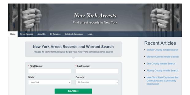 ny arrests new york arrests