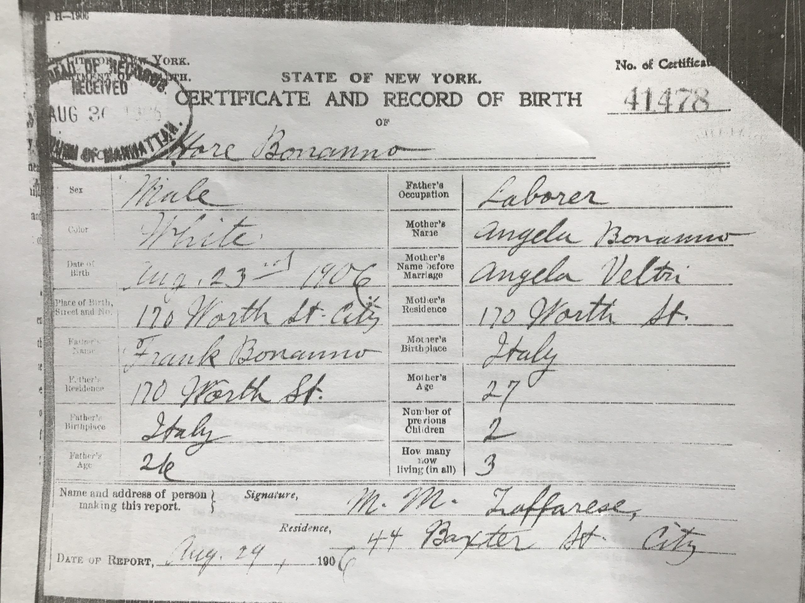NYC Proposal to Further Restrict Access to Vital Records ...