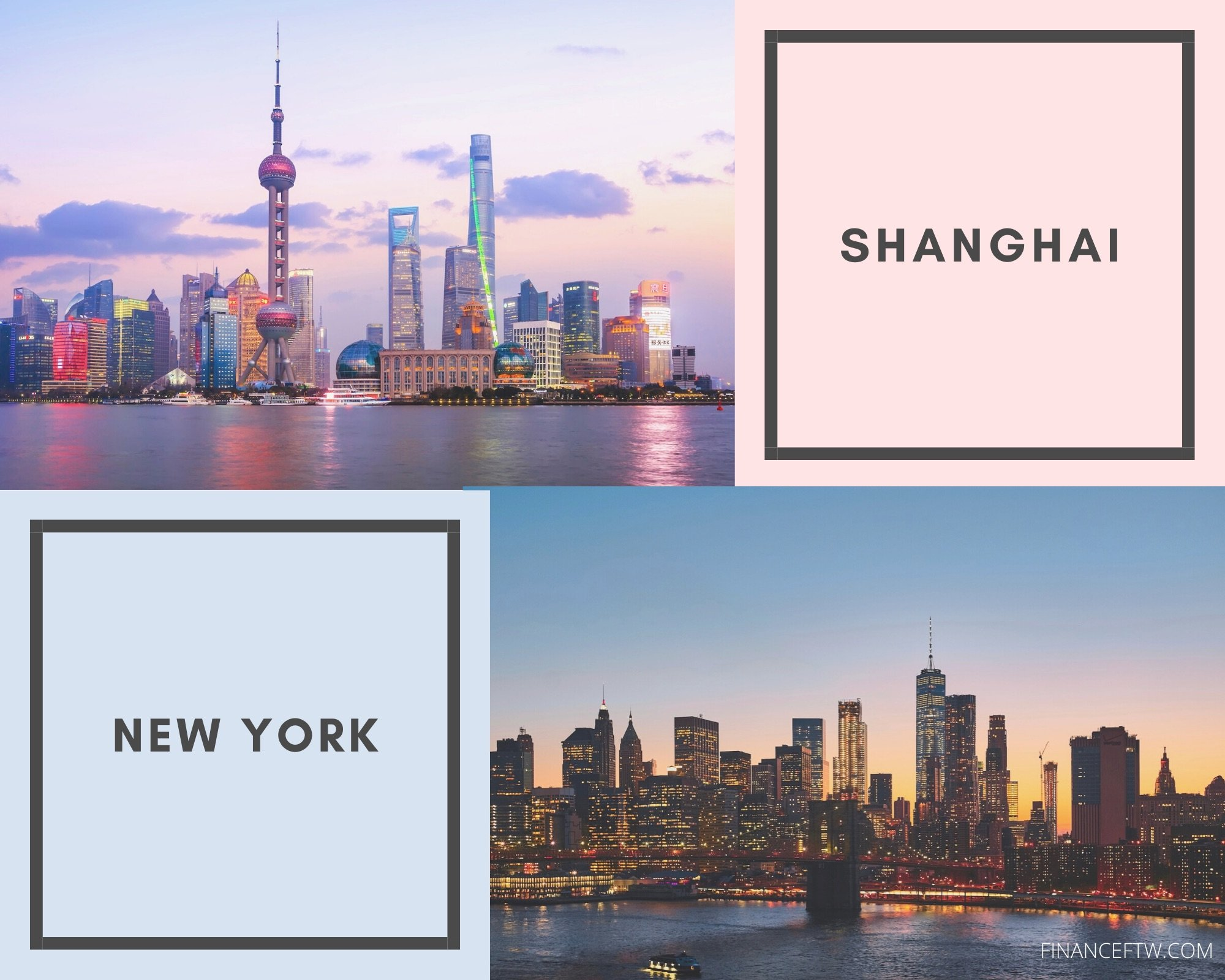 Shanghai vs. New York: Which city should you live in ...