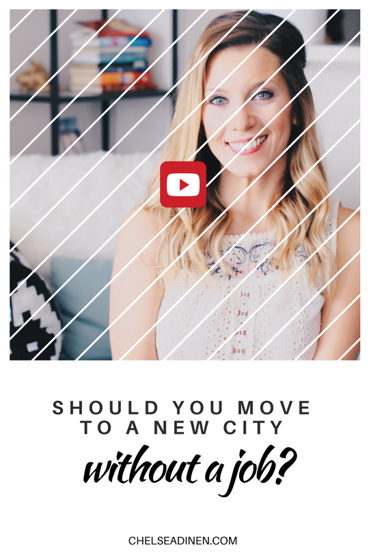 Should You Move to A New City Without A Job?
