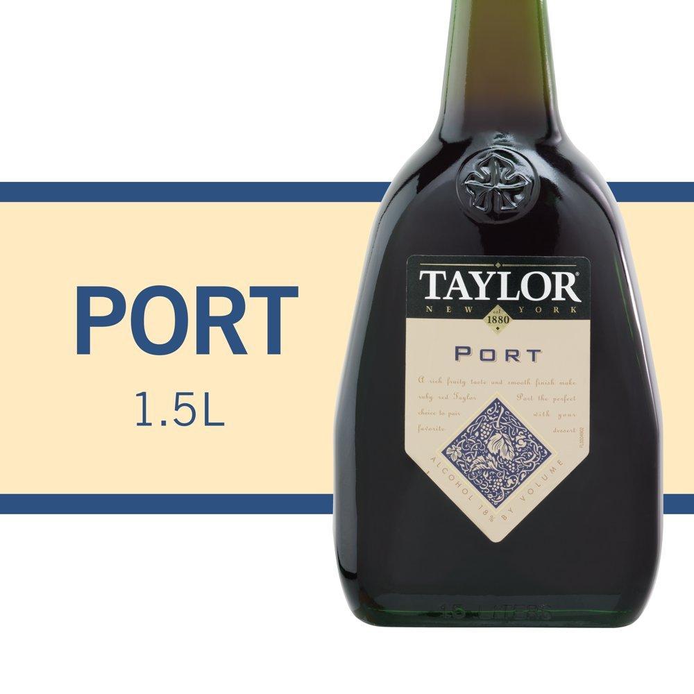 Taylor New York Desserts Port, Red Wine, 1.5 L Bottle ...
