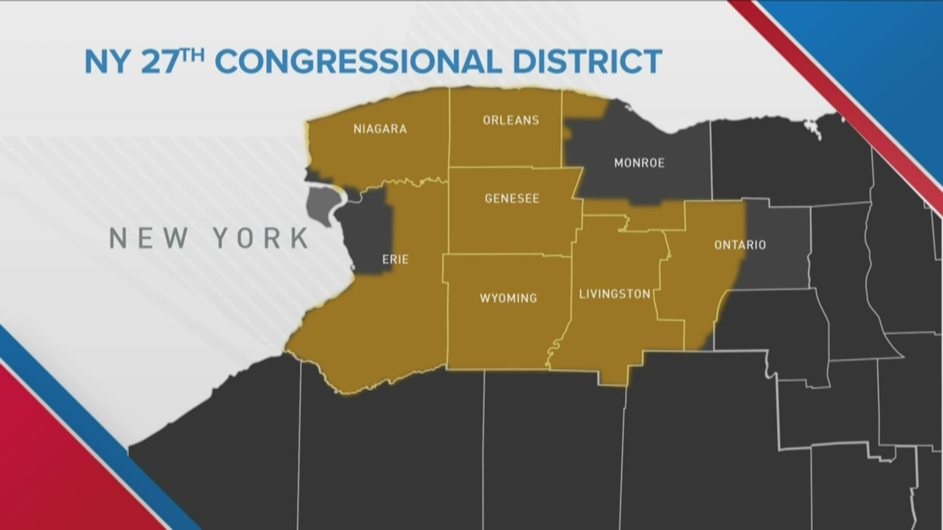 The NY 27th Congressional District Map