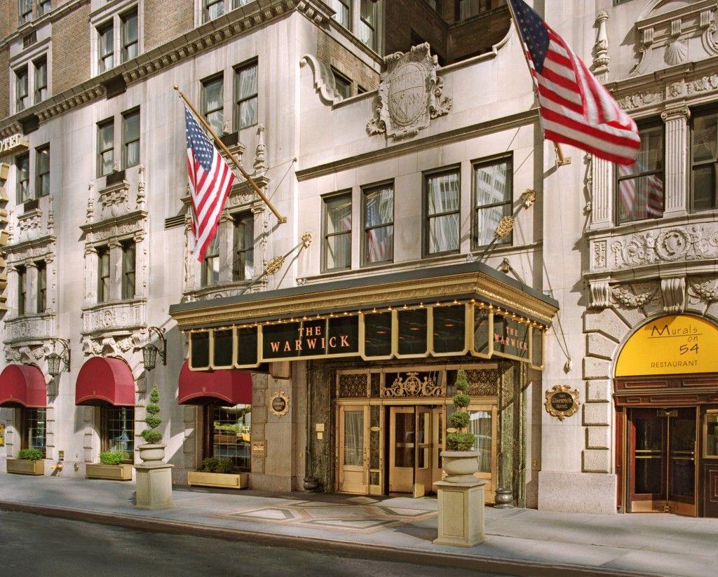 The Warwick New York...LOVE Warwick Hotels, amazing staff ...